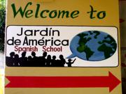 Welcome to Jardin de America Spanish School